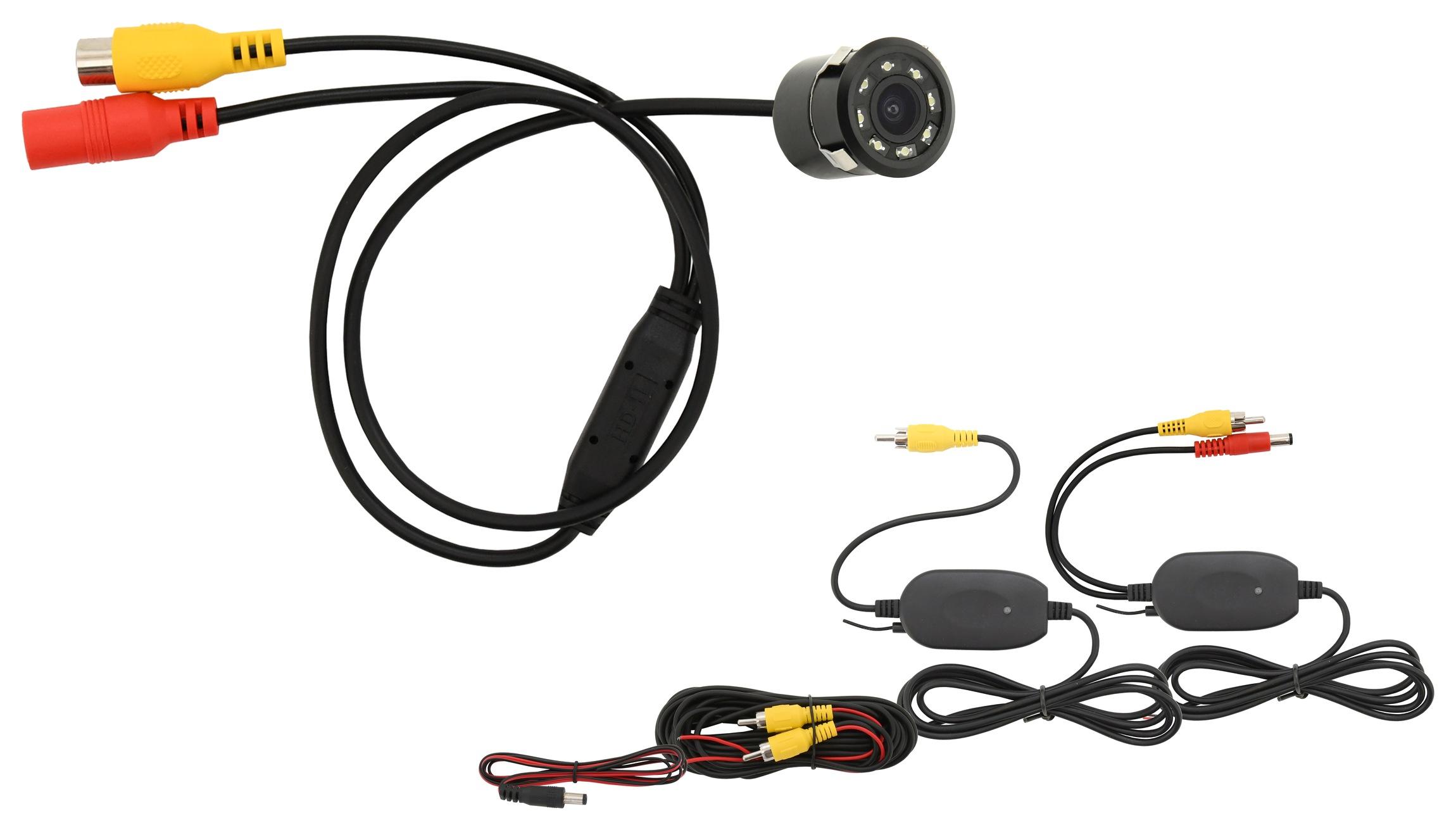 Parkovací kamera INSERT bezdrátová s LED přísvitem, 33592