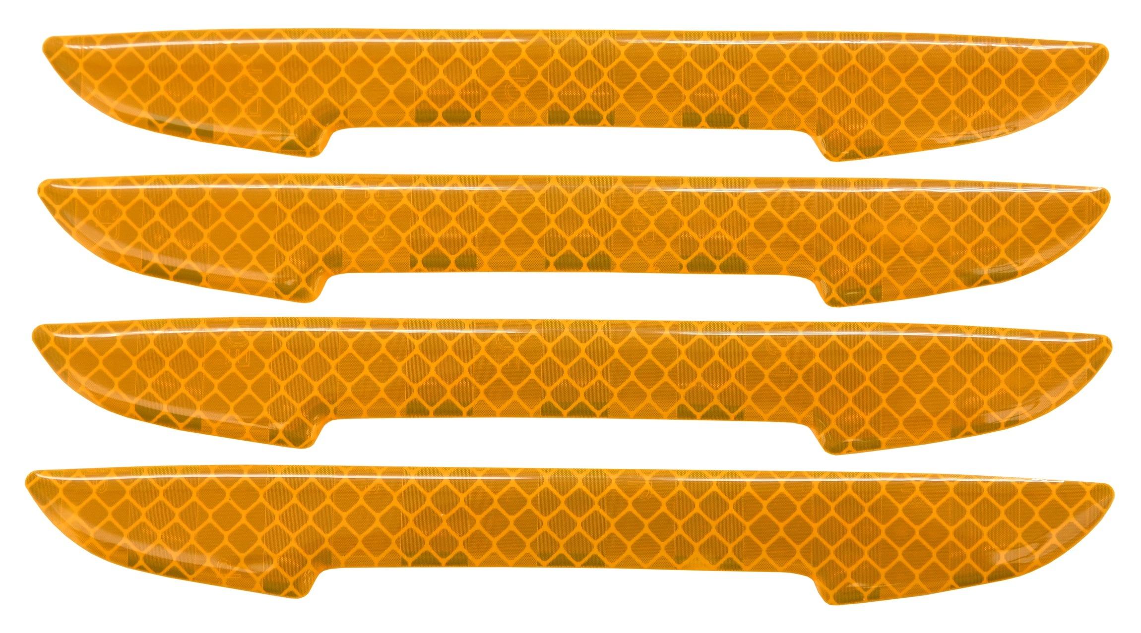 Chránič dveří samolepící DELTA žlutý 4ks, 34314