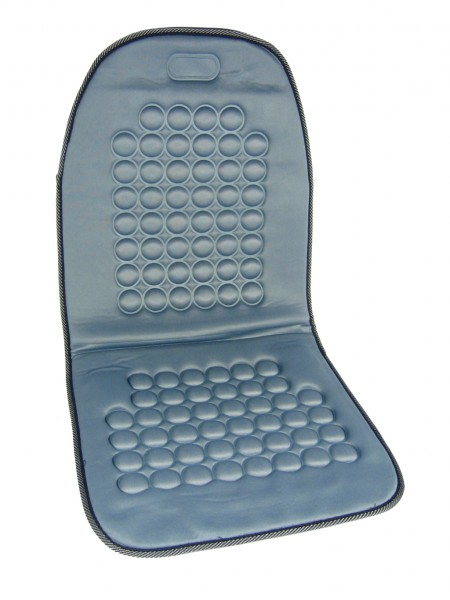 Potah sedadla masážní s magnety šedý, 42029