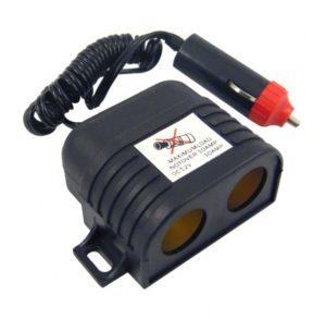 Rozdvojka zapalovače 12V s kabelem, 42300