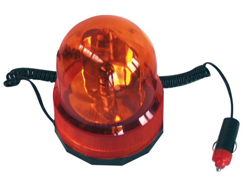 Maják 12V oranžový 5W žárovka kabel 3m 58026