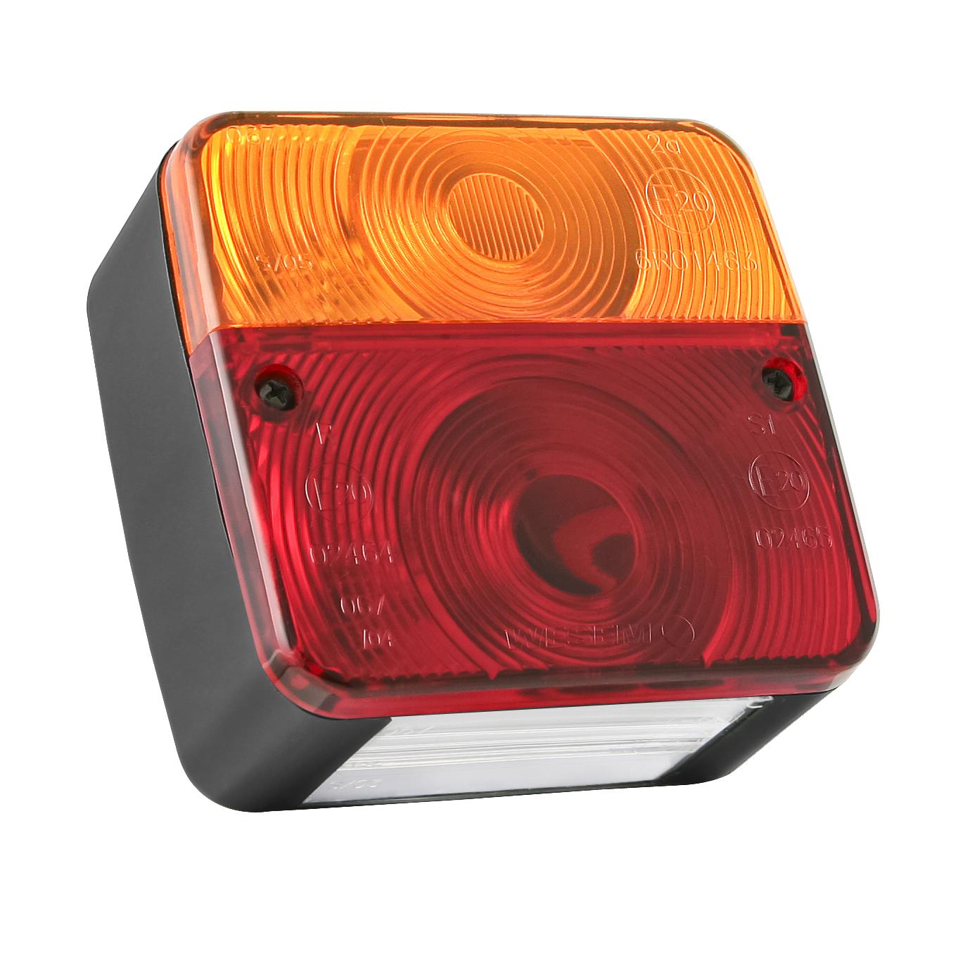 Sdružené světlo na přívěs s osvětlením SPZ, 06727