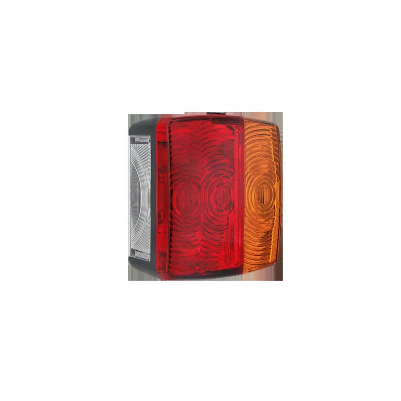 Zadní sdružené světlo 4F 104x99, s osvětlením SPZ, LT4.52100 (náhrada 06727)