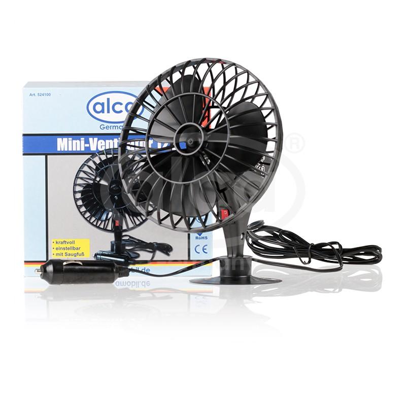 Ventilátor malý pevný 12V, 524100