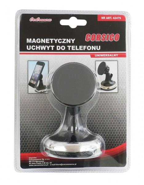 Magnetický držák mobilu s přísavkou na sklo, 42479