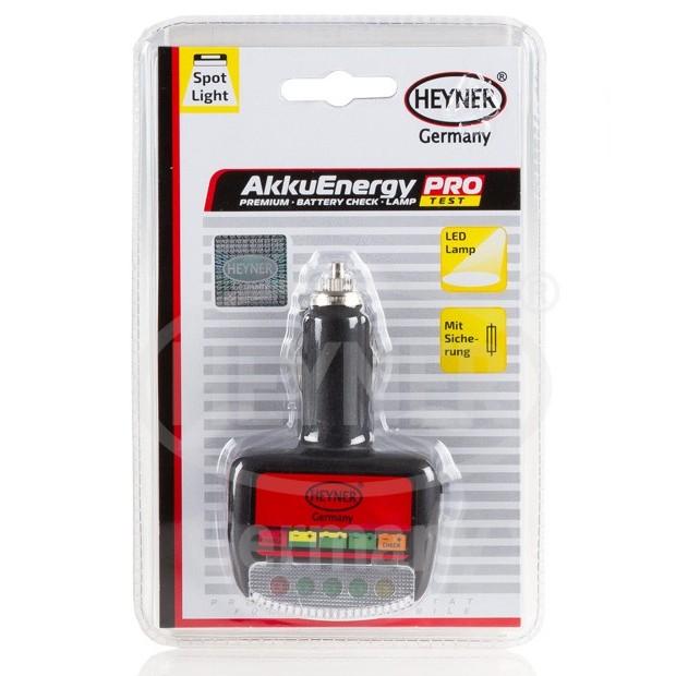 Tester autobaterie s diodami, 573100