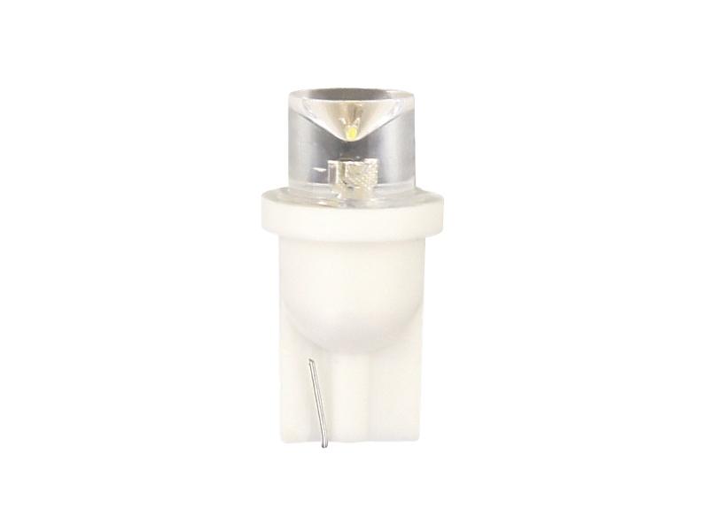 Žárovka LED 12V T10 bílá 2ks celosklo, 33709