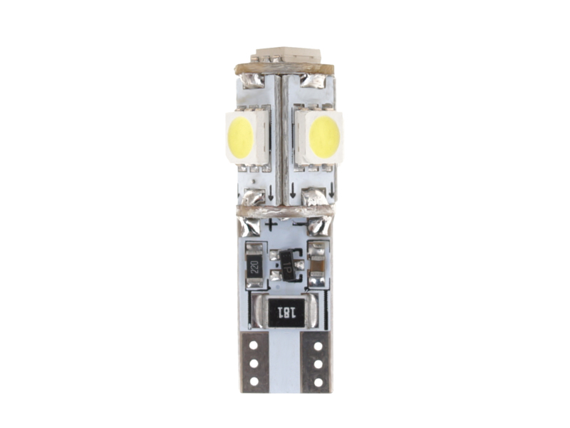 Žárovka 5 SMD T10  CAN-BUS, 2ks, bílá, 77967