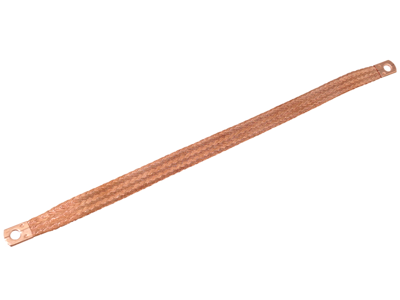 Uzemňovací pásek 220x16mm  pr.oka 8mm, 58975