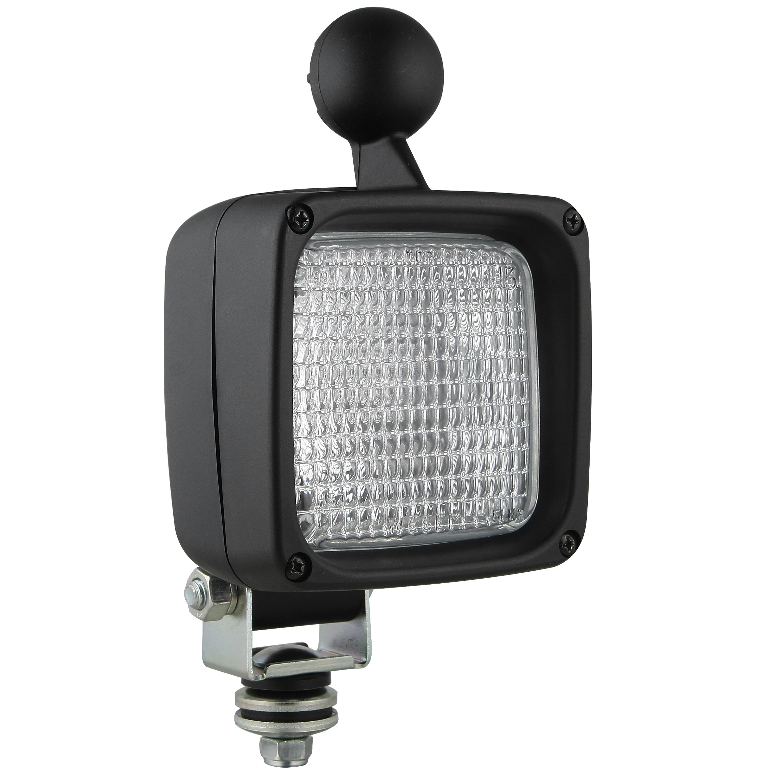 Pracovní světlo 100x100mm s držákem, 26366
