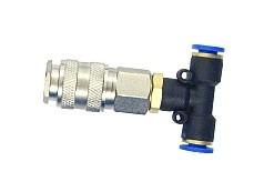 Roztrojka k tlakové hadici 13kg/cm2, průměr 6mm, 61399