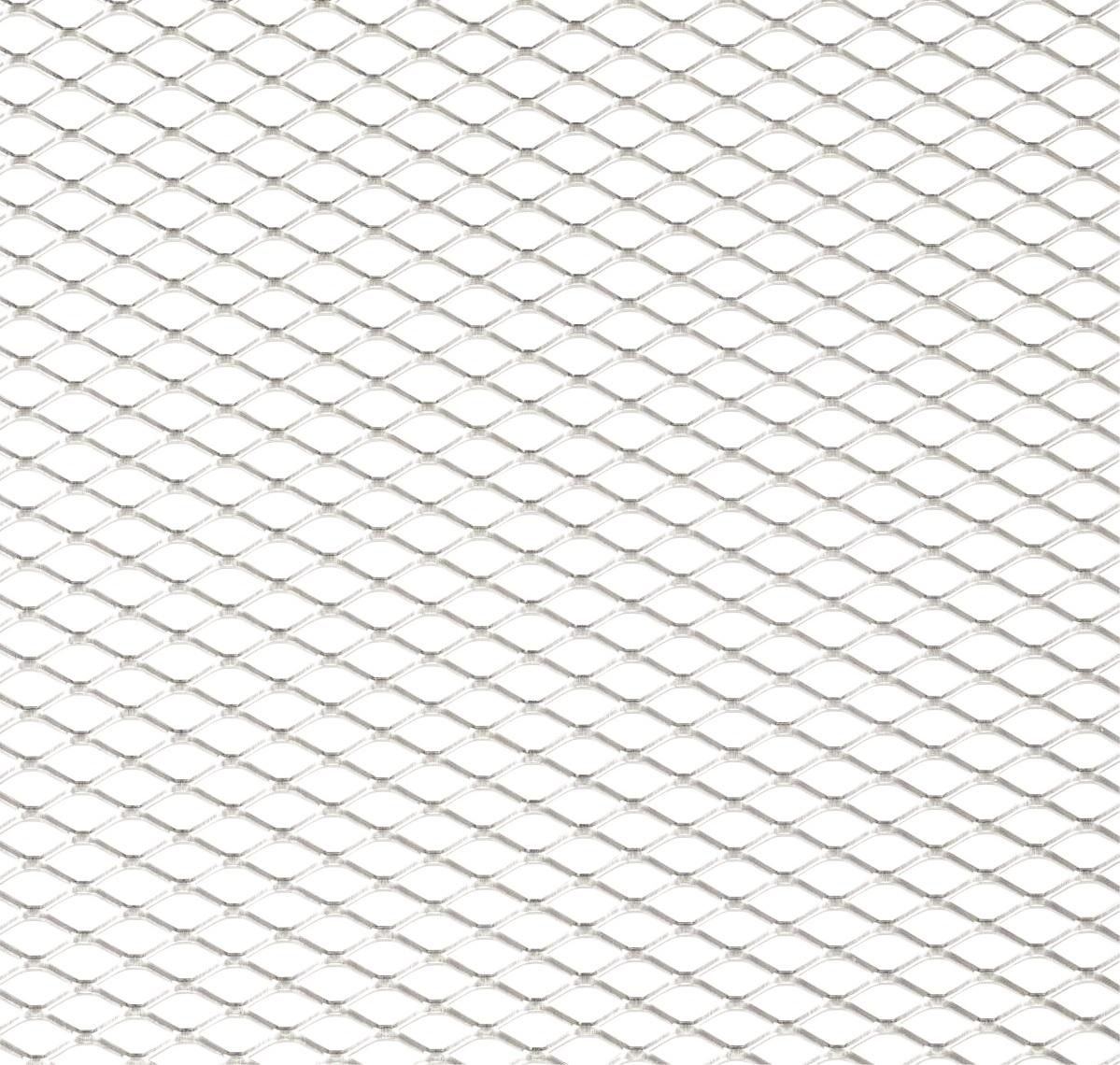Hliníková mřížka (Tahokov) rozměr 1000x250 mm, AL 08 bílý MO