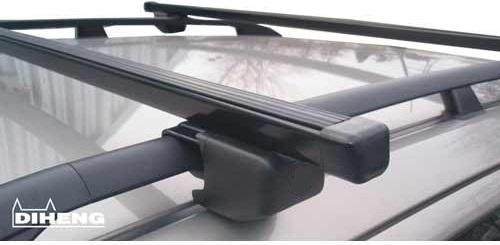 Střešní nosič DIHENG - příčník  120cm - bez zámku