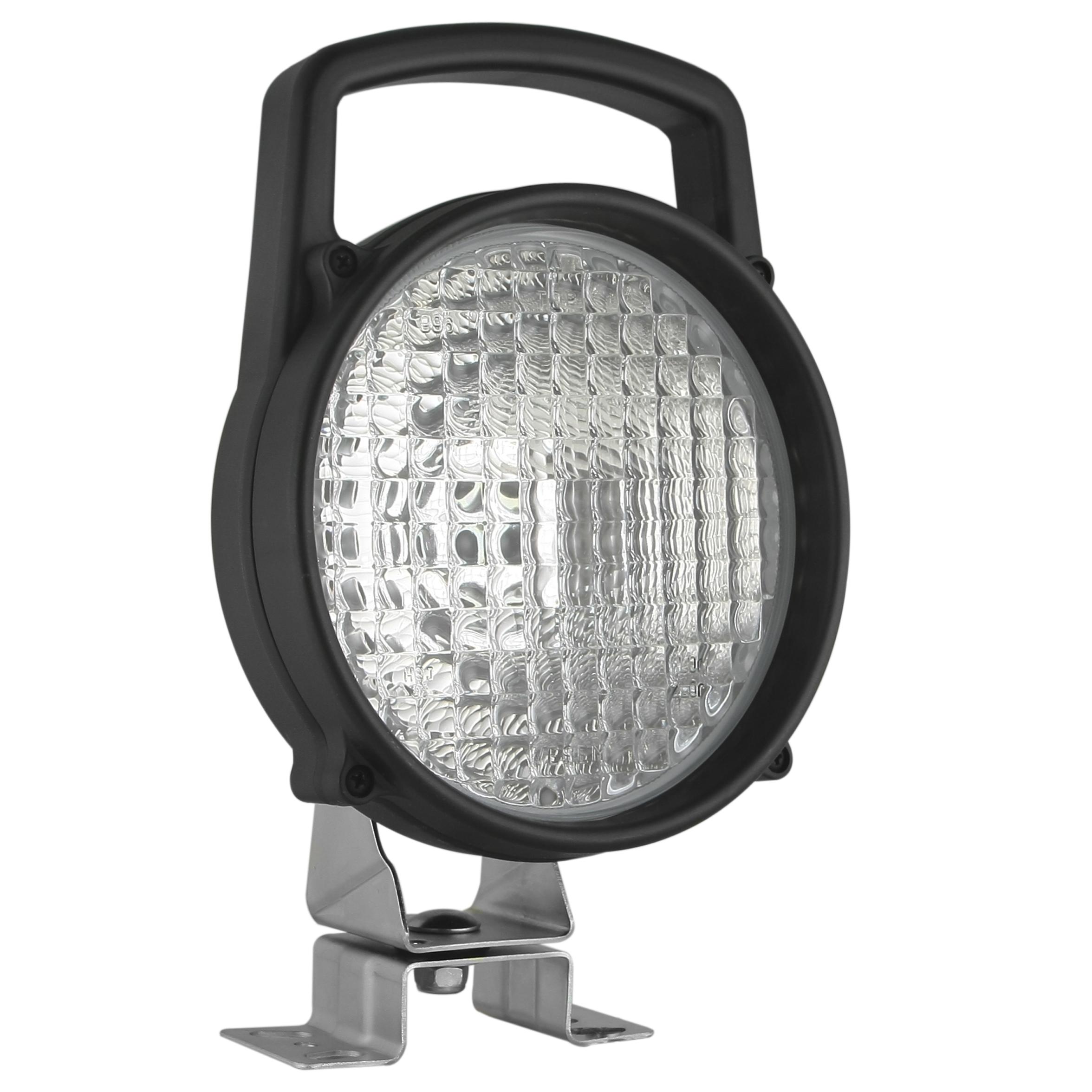 Pracovní světlo kulaté s držákem a vypínačem, 09338