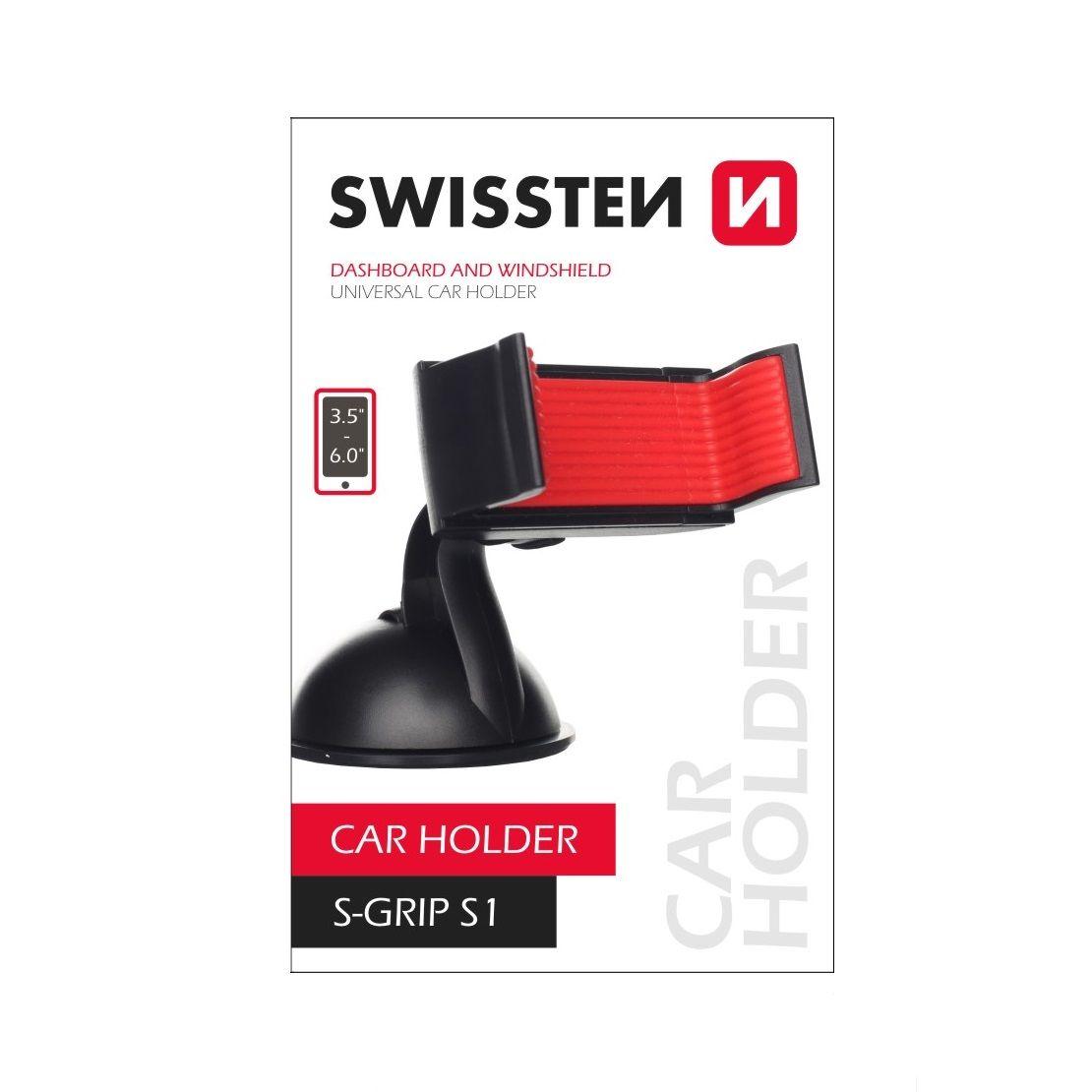 Držák mobilu na přísavku SWISSTEN S-GRIP S1, 44398