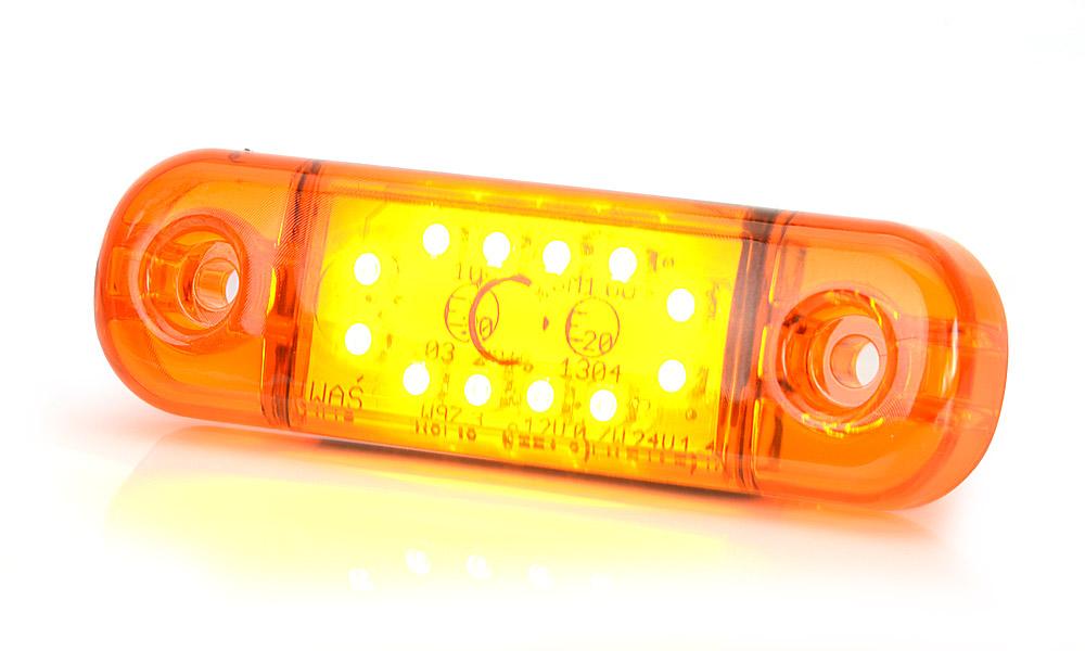 Poziční boční světlo, 12V-24V, LED, W97.3