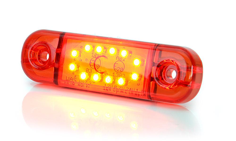 Poziční zadní světlo, 12V-24V, LED, W97.3