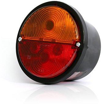 Zadní poziční sdružené světlo+ osvětlení SPZ 12V (24V), W16L