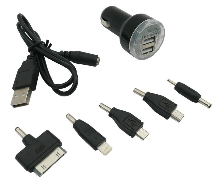 Nabíječka mobilu univerzální s 5 konektory 12/24V, 42472