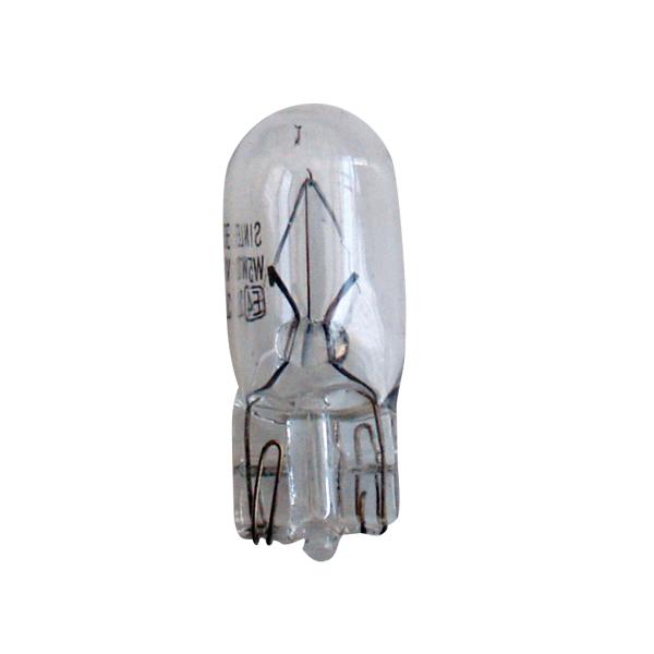 Žárovka 24V 5W celosklo - balení 10 ks