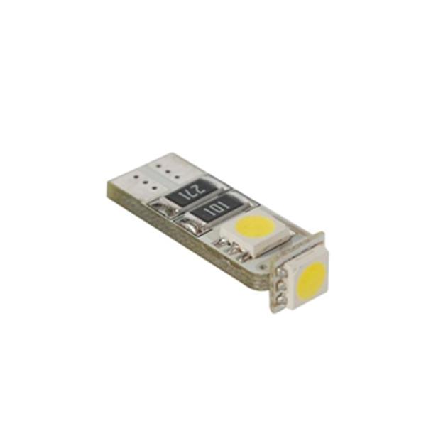 Žárovka 3 SMD T10 CAN-BUS modrá, 78615