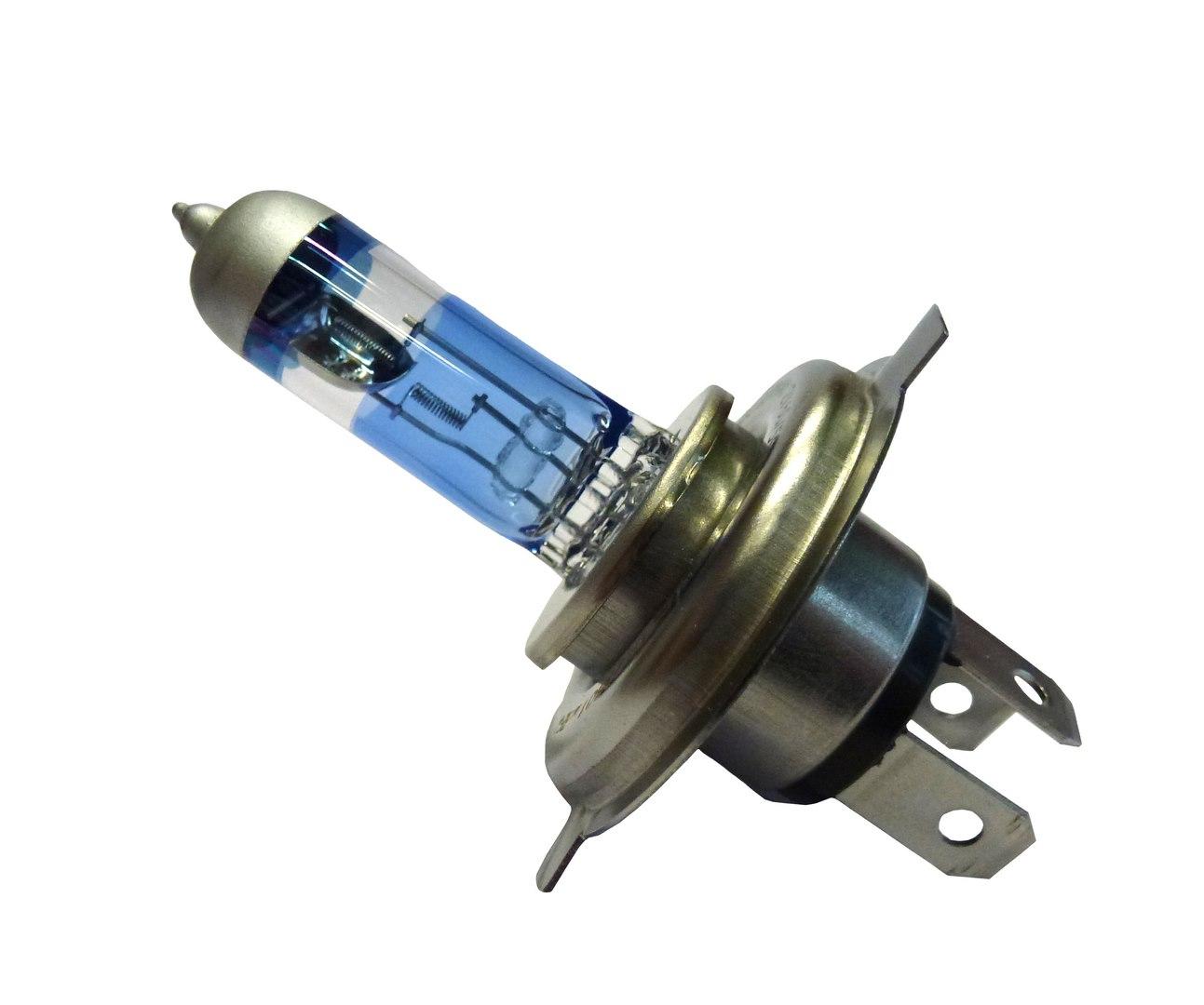 Žárovka H4 12V/55-60W modrá