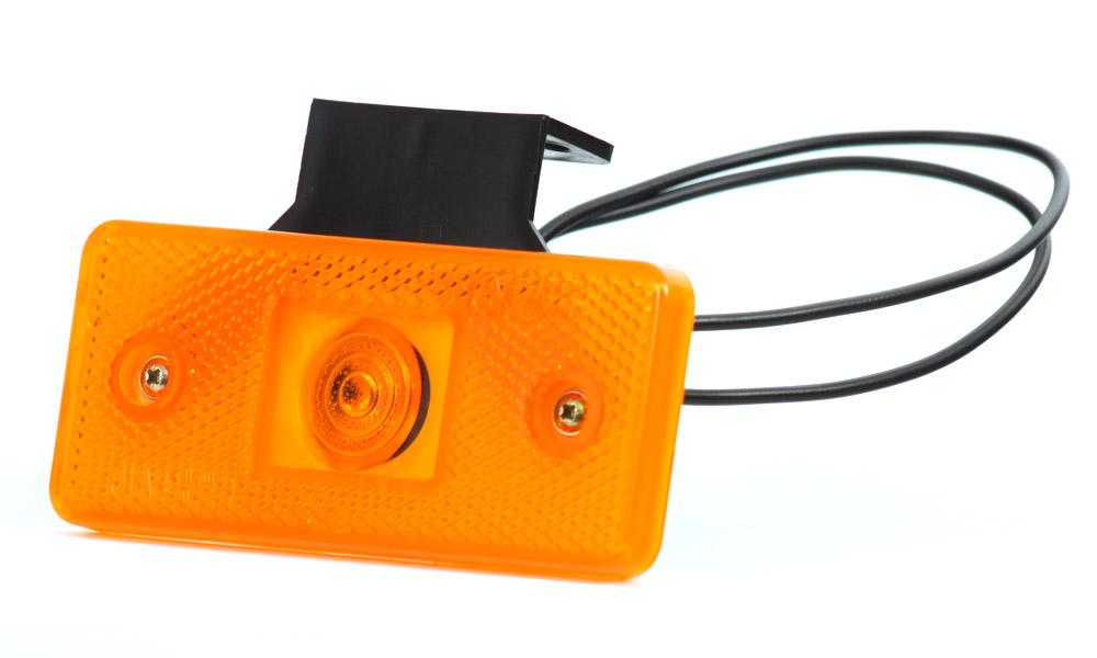 Poziční oranžové sdružené boční světlo s pantem, W17