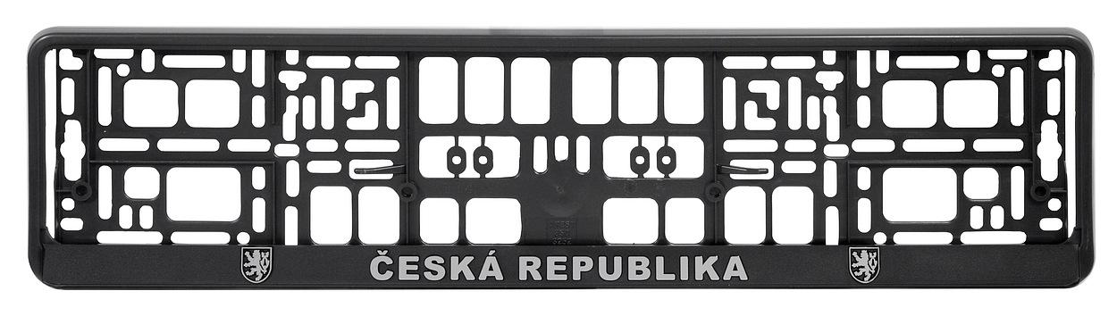 Podložka pod SPZ CHROM ČR 3D, 91536