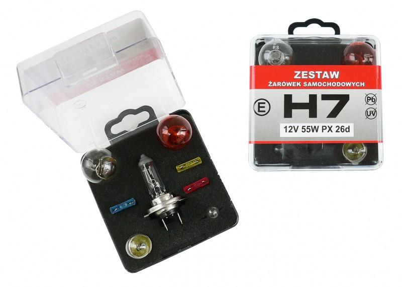 Sada žárovek univerzální H7/12V, 42451