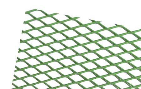 Hliníková mřížka (Tahokov) rozměr 1000x250 mm, AL 08 zelený VO