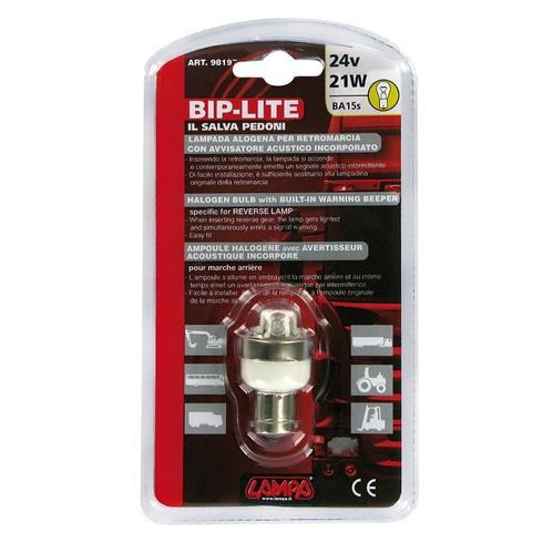 Couvací alarm se žárovkou 24V 21W BIP BIP, 98197