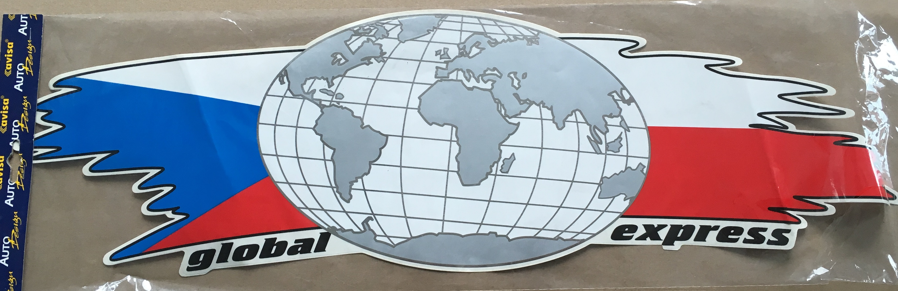 "Samolepící dekory ""AVISA"" global expres"