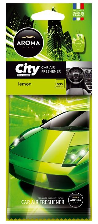 AROMA CAR CITY LEMON   92714