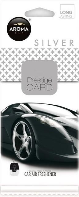 AROMA CAR PRESTIGE CARD SILVER  92665