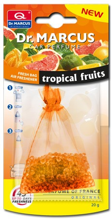 Osvěžovač vzduchu DR.MARCUS FRESH BAG TROPICAL FRUITS 20g,  DM433