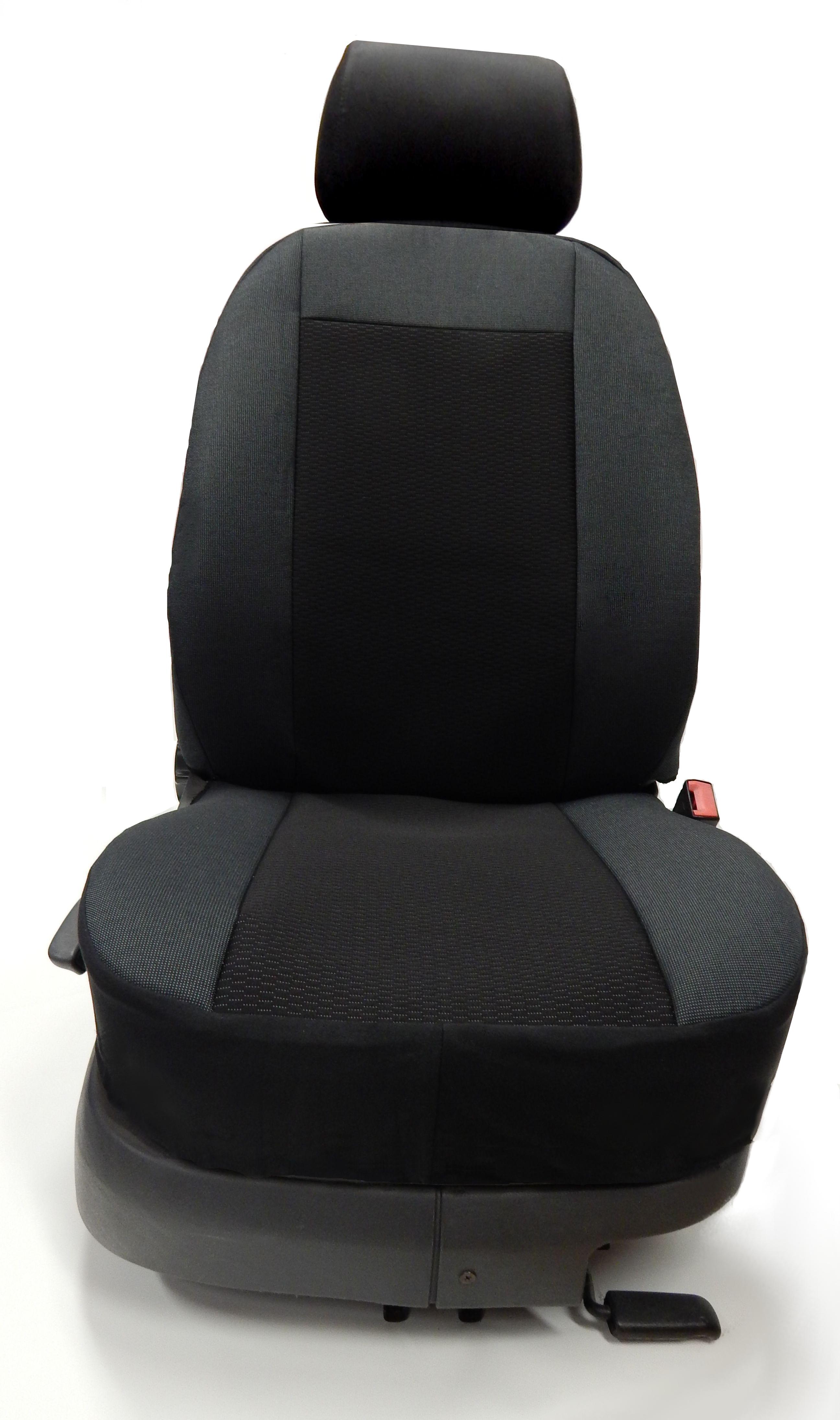Potahy sedadel UNI II (135cm) sedák + opěradlo dělené  85cm/50cm