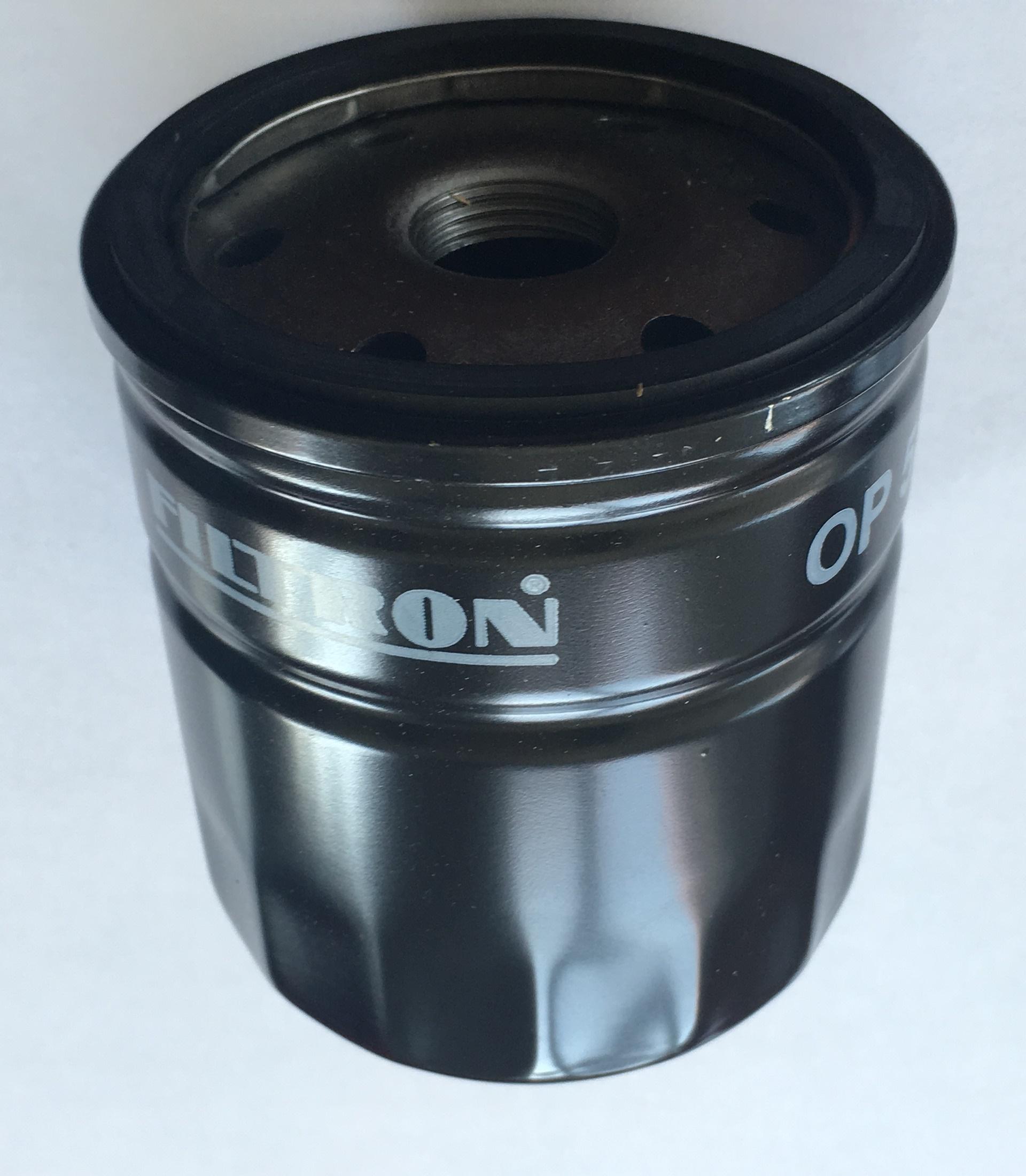 Olejový filtr Škoda 120, FAVORIT černý