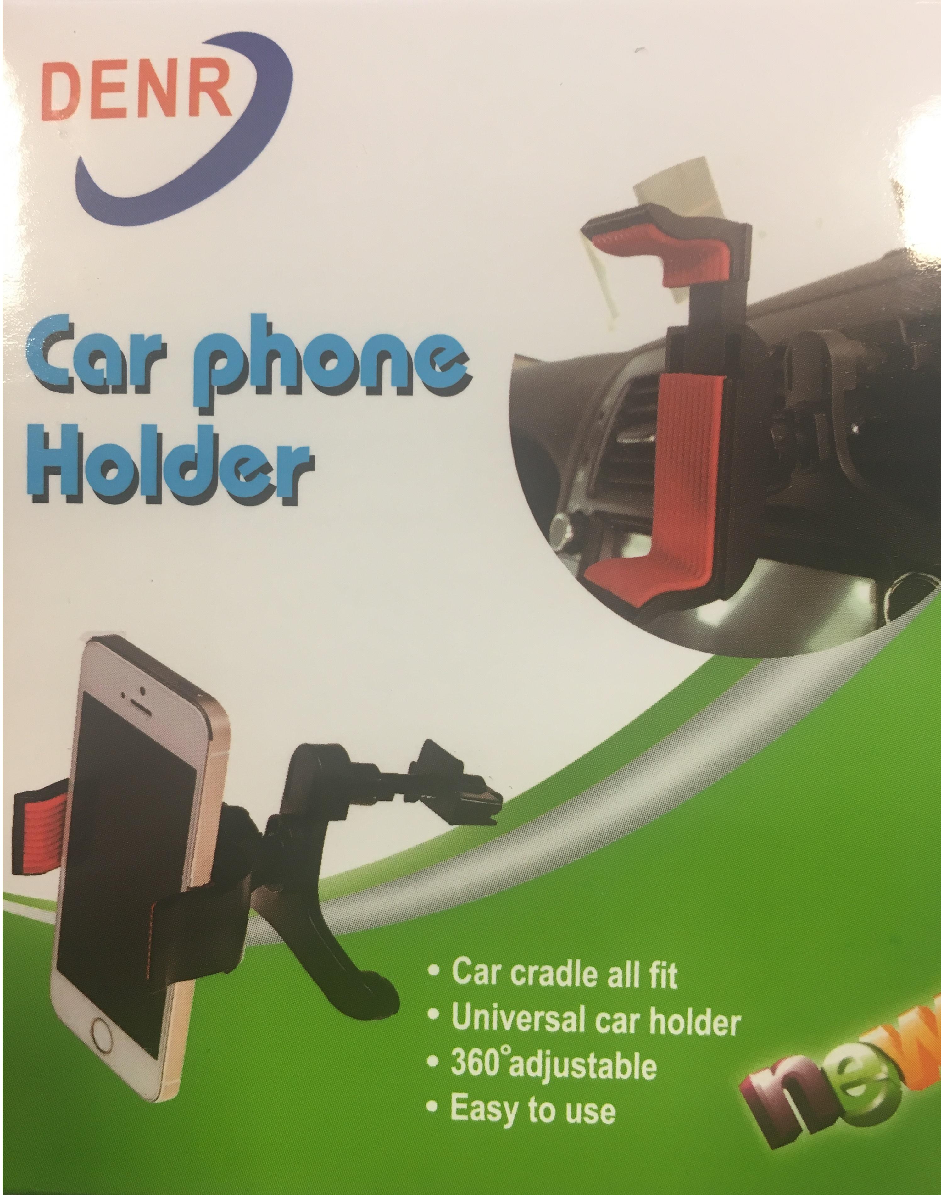 Držák mobilu do mřížky ventilace, 0675