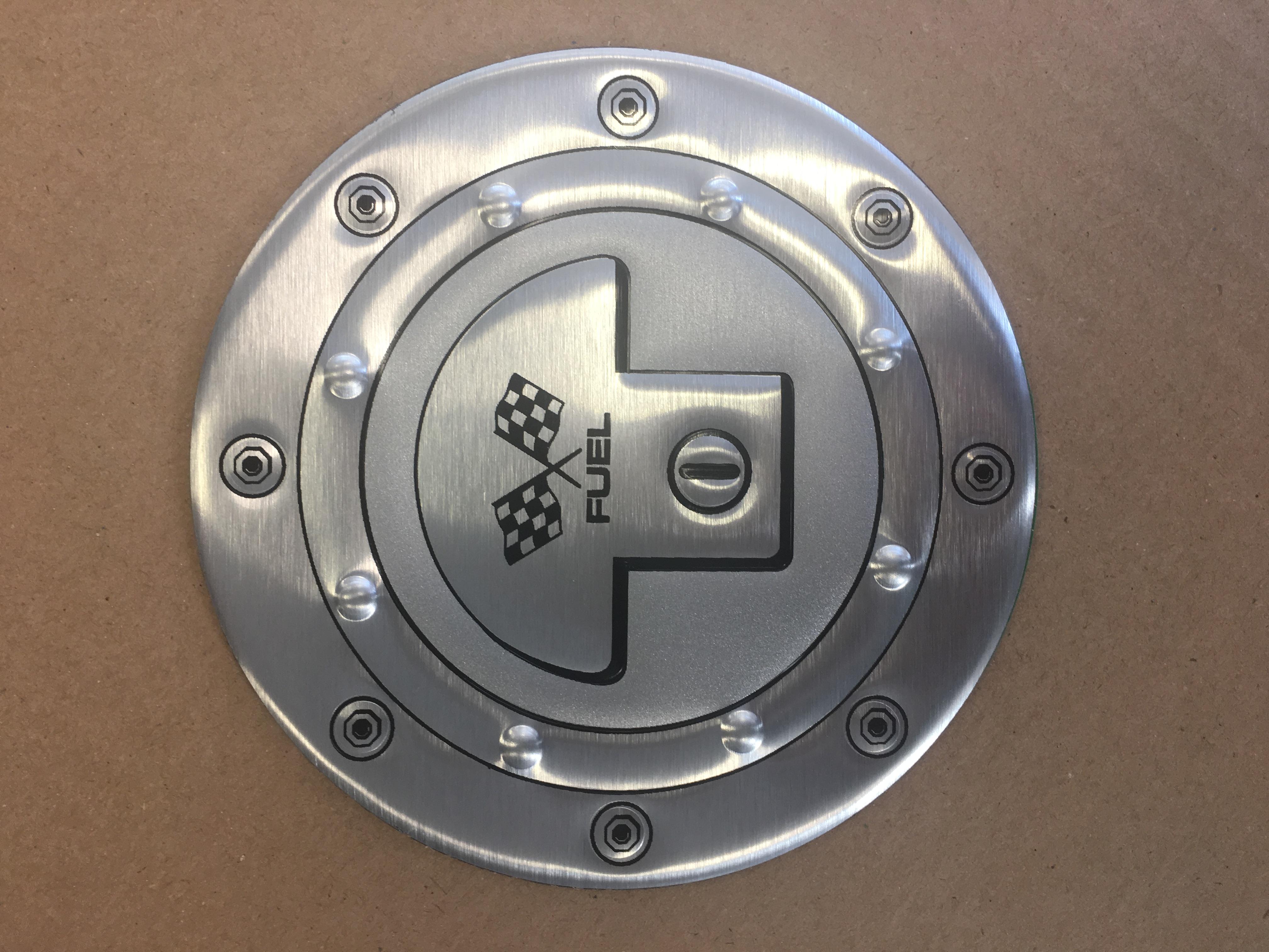 """Samolepící dekory """"AVISA"""" ALU silver prů.13cm"""
