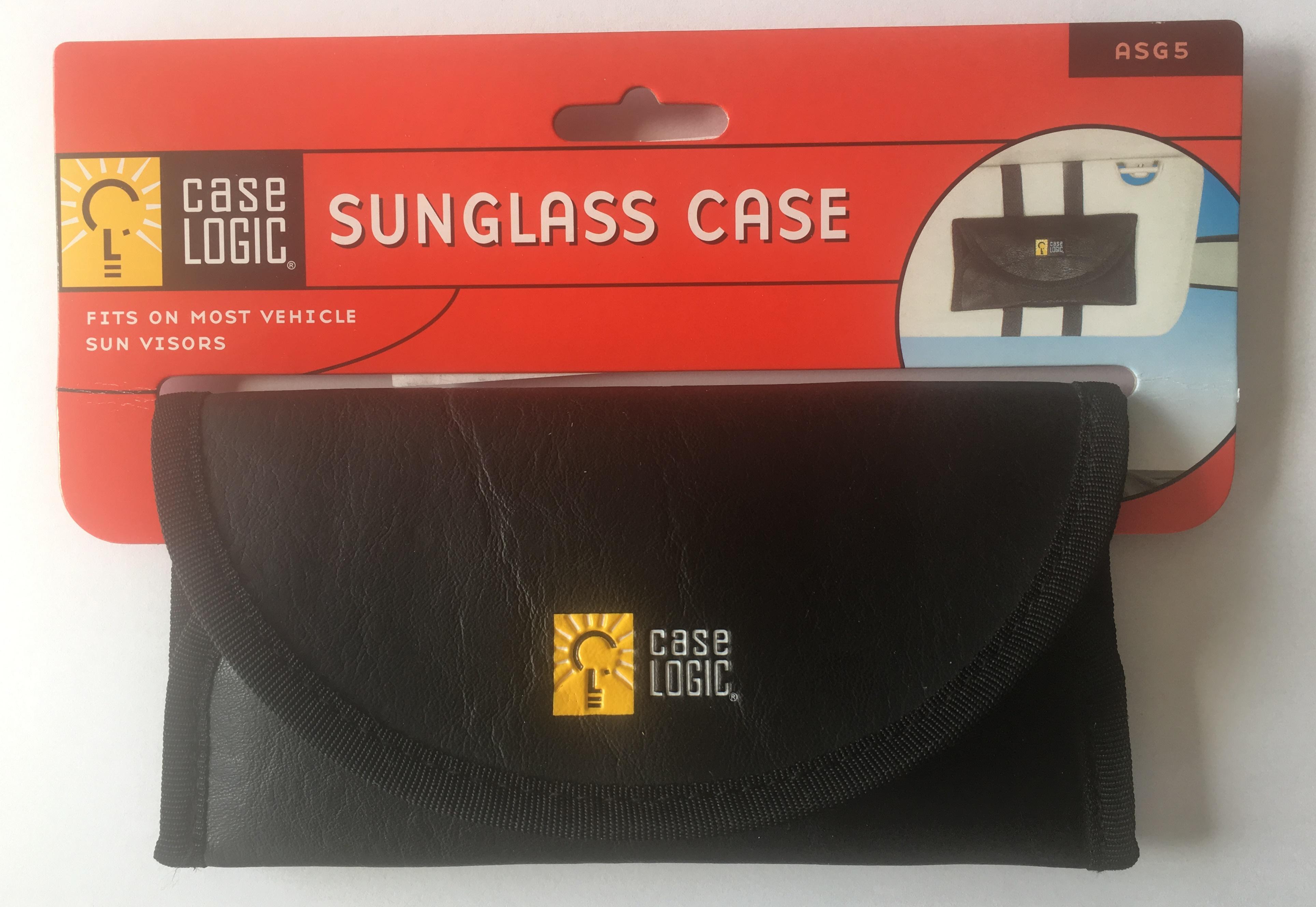 Pouzdro na brýle na sluneční clonu ASG5