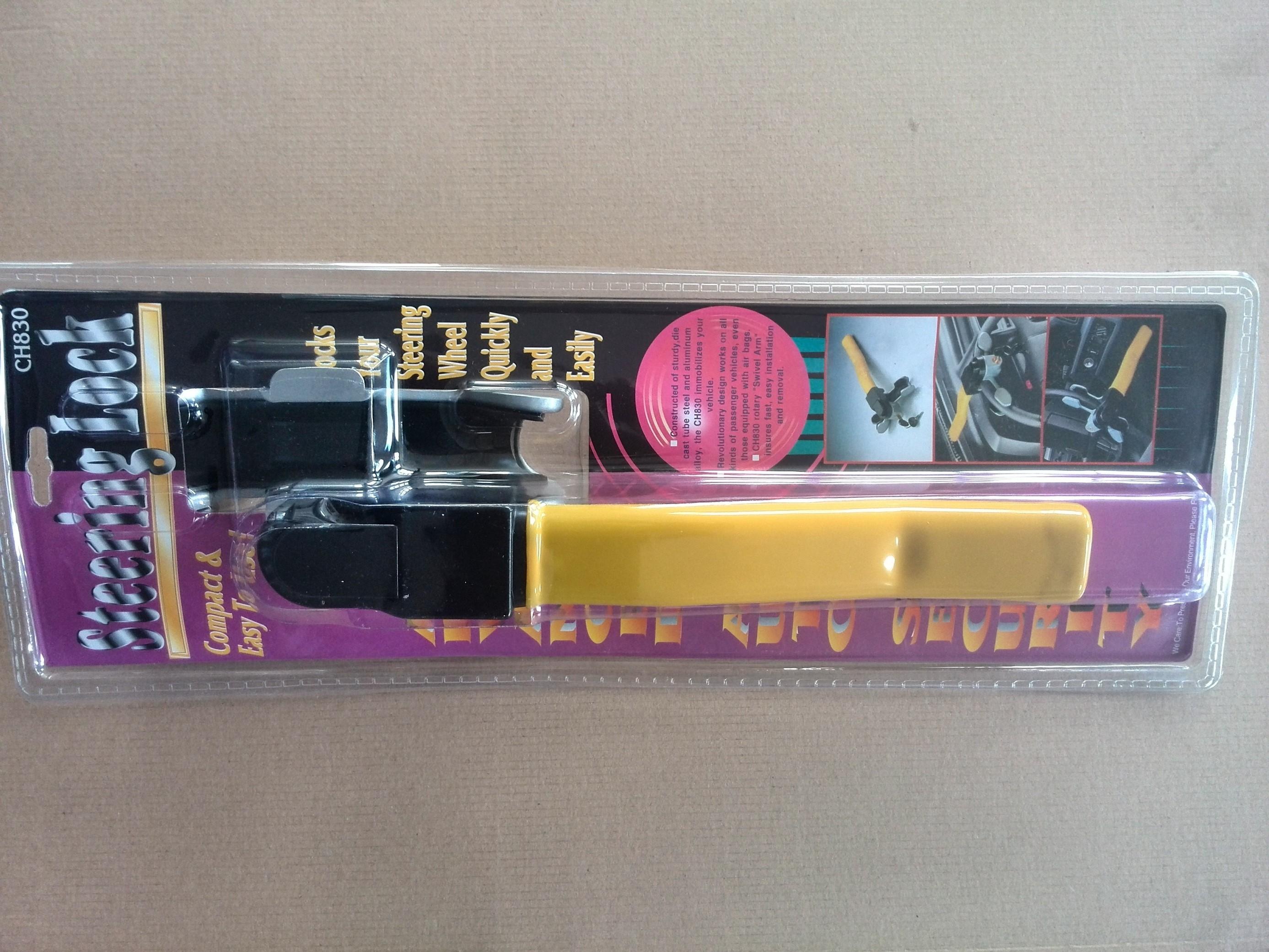 Zámek volantu ROTARY LOCK  dlouhý 1.jakost, 42cm