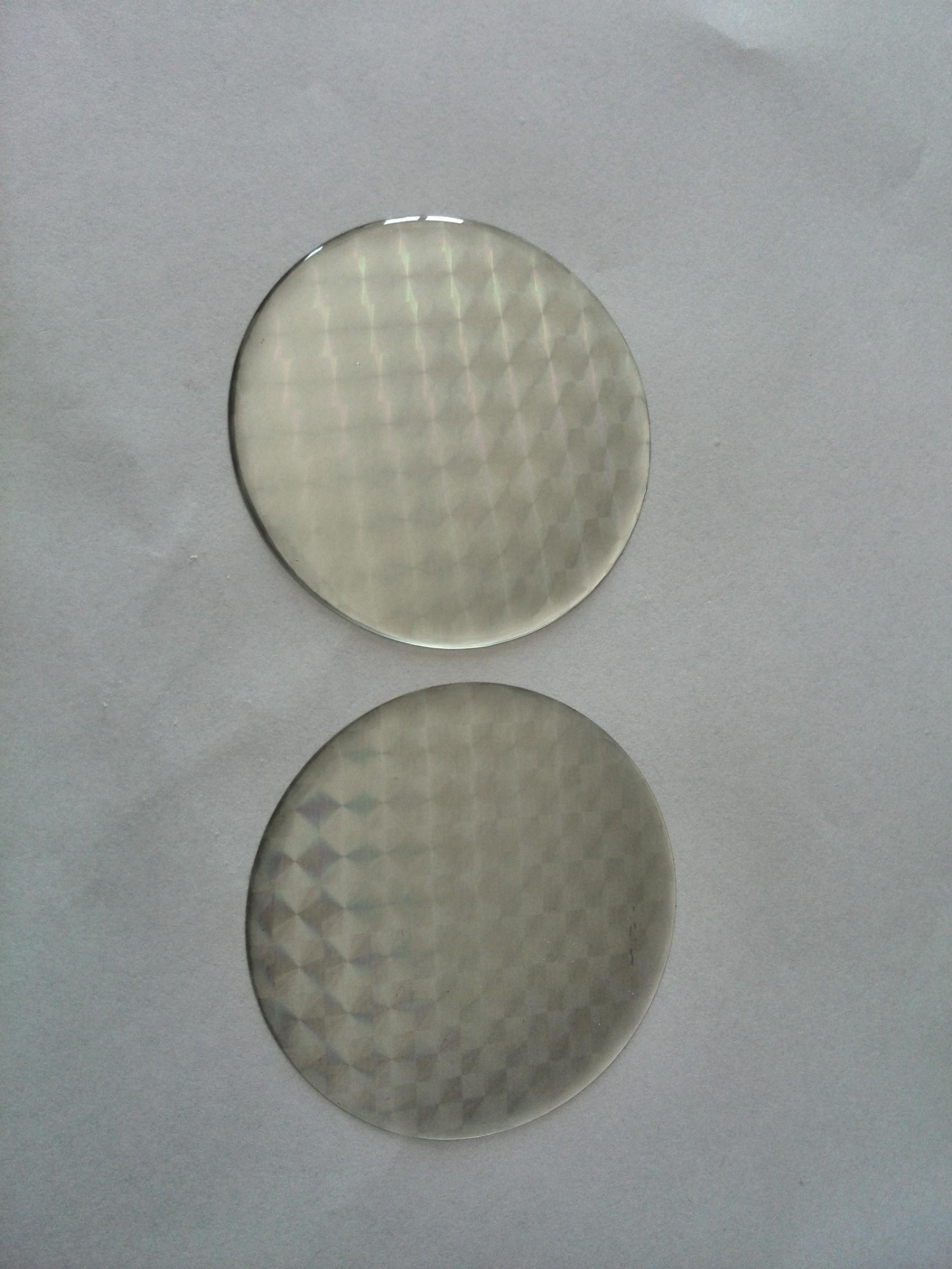 Odrazka kulatá prů.5cm stříbrná poloplast samolepící
