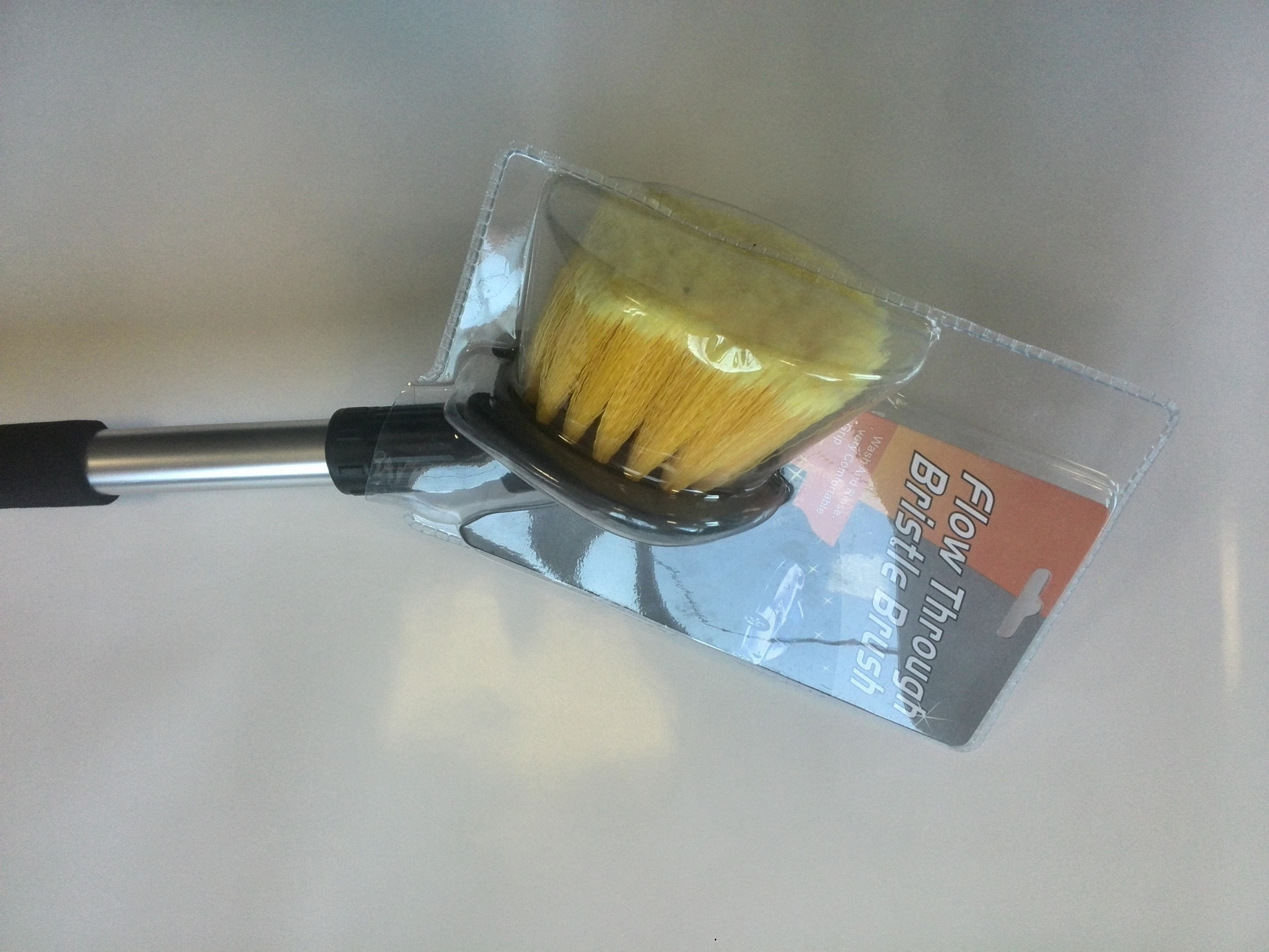 Mycí sada (tyč 60cm + kulatý kartáč), 43-048
