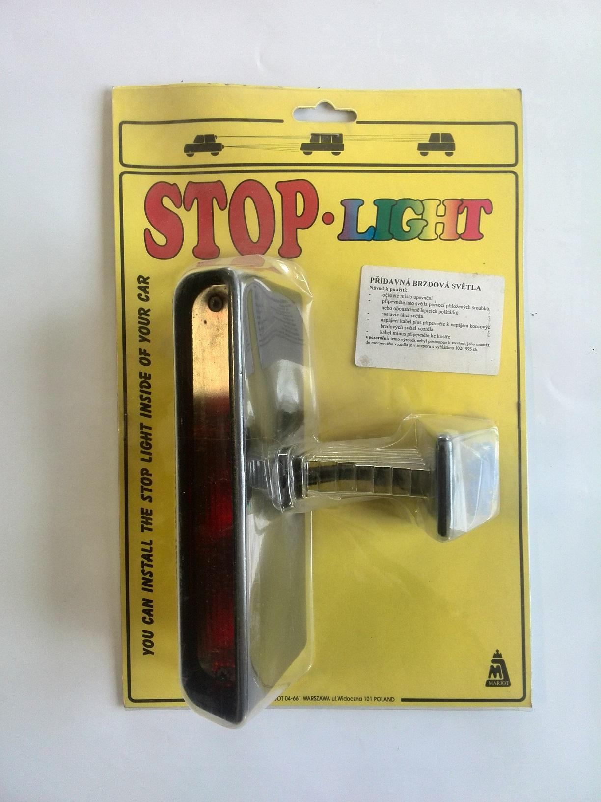Světlo STOP 3x5W ,724287