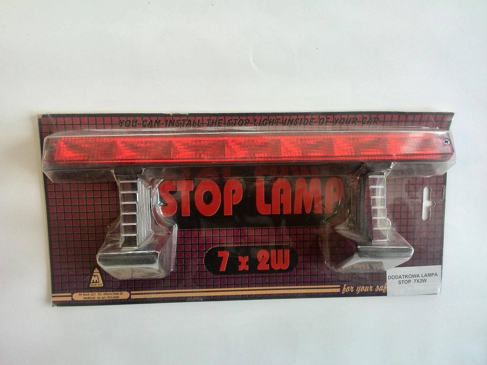 Světlo STOP 7x2W, W030