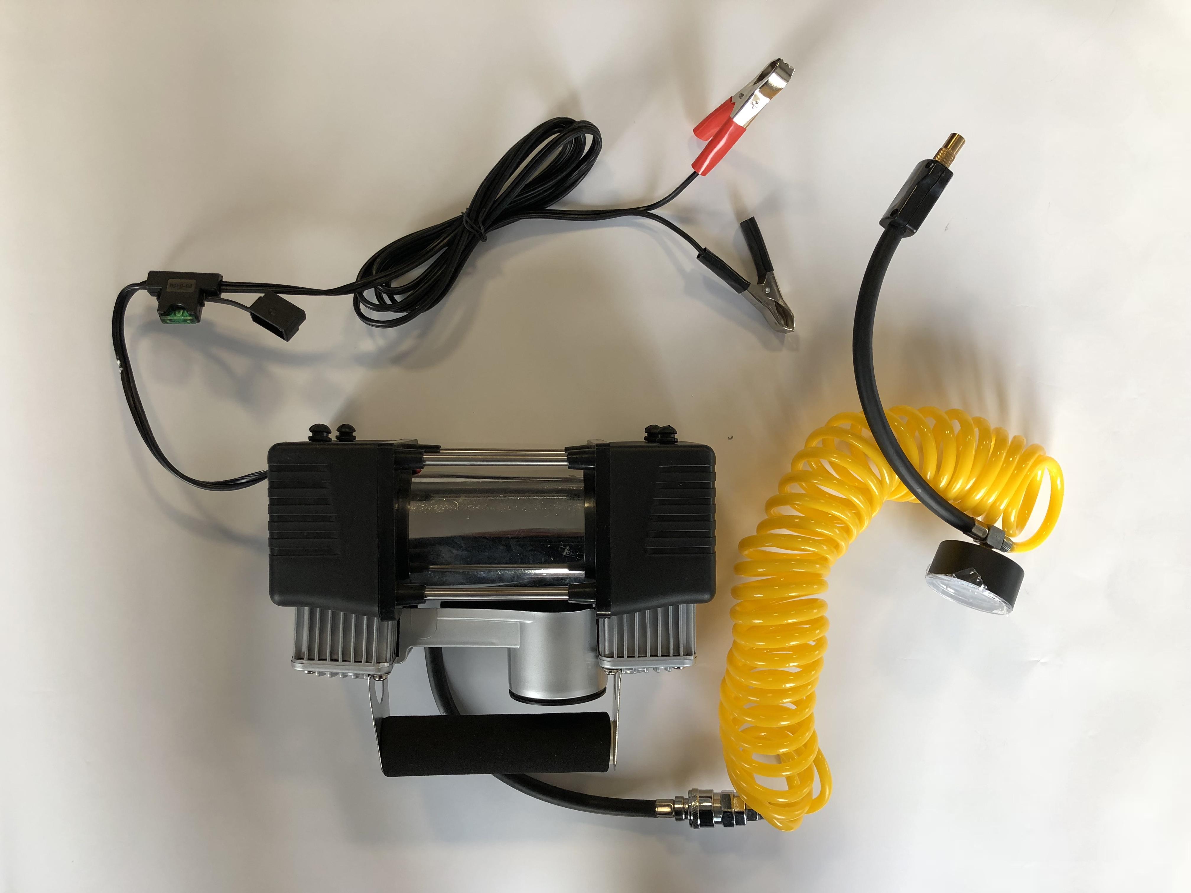 Kompresor 12V, 2-pístový, 10 BAR, 42706
