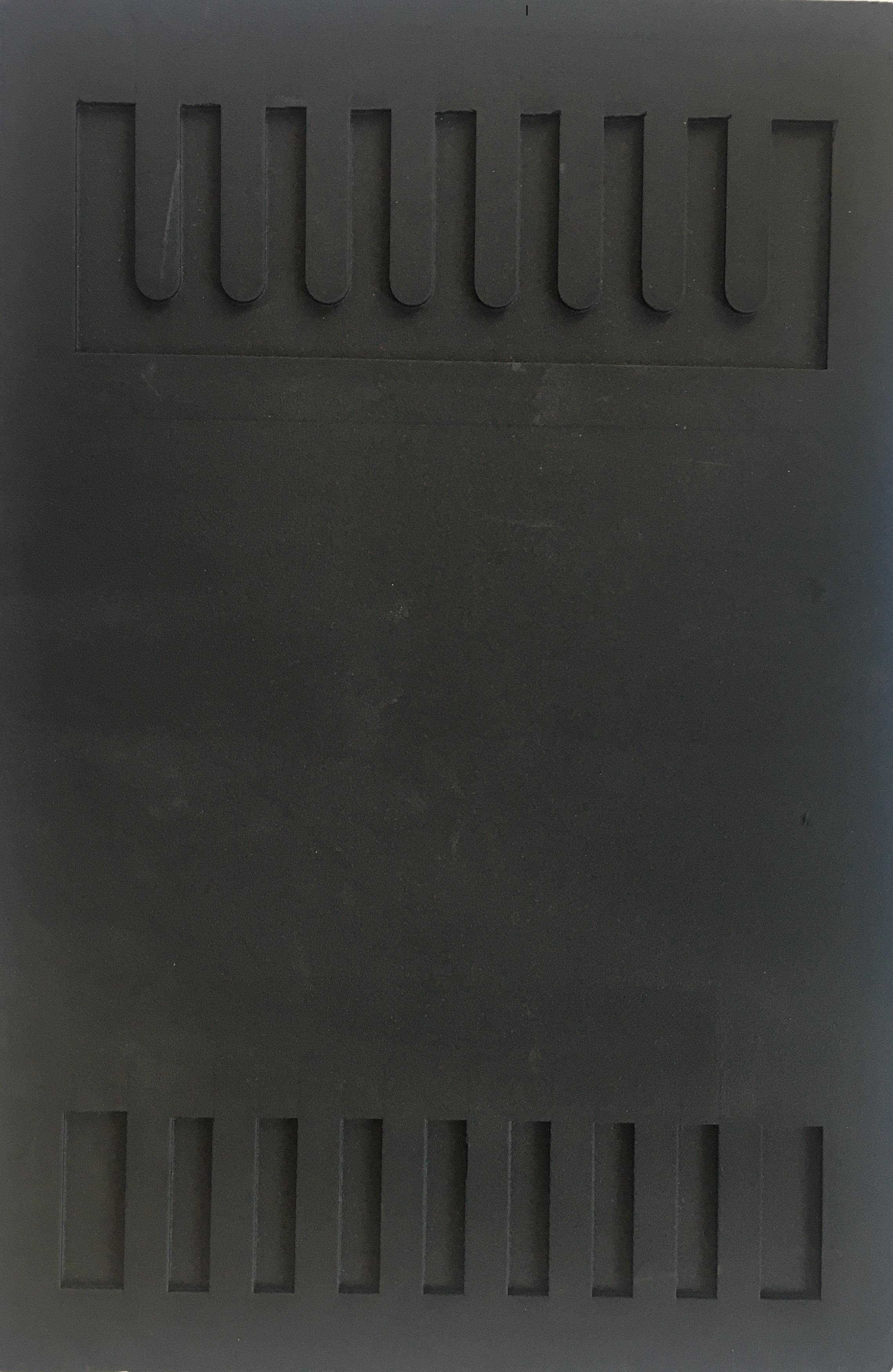 Zástěrky k vozíku gumové  25x38 cm,  1ks
