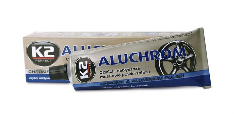 K2 ALUCHROM 120 g - pasta na čištění a leštění kovových povrchů, K003