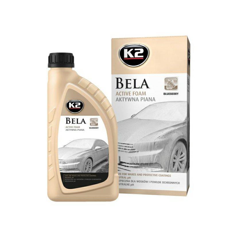 K2 BELA 1 l BLUEBERRY - aktivní mycí pěna, G100BB