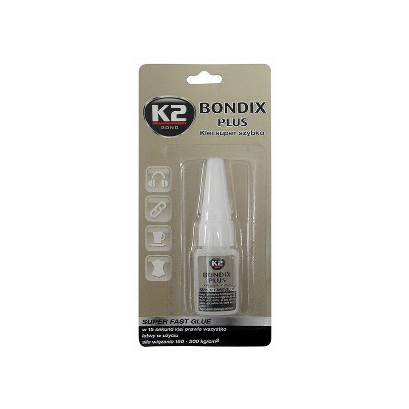 K2 BONDIX PLUS 10 g - sekundové lepidlo, B101